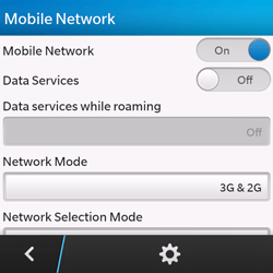 BlackBerry Q10 - Internet - Manual configuration - Step 6