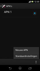 Sony C1905 Xperia M - Internet - buitenland - Stap 11