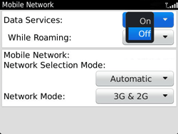 BlackBerry 9360 Curve - Internet - Enable or disable - Step 6