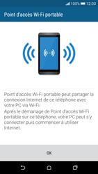 HTC Desire 626 - Internet et connexion - Partager votre connexion en Wi-Fi - Étape 7