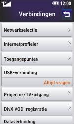 LG GD900 Crystal - Internet - Handmatig instellen - Stap 8
