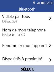 Nokia 8110 Banana - Bluetooth - Jumeler avec un appareil - Étape 6