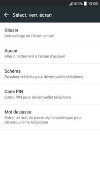 HTC Desire 825 - Sécuriser votre mobile - Activer le code de verrouillage - Étape 6