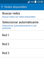 Samsung Galaxy Core Prime - Red - Seleccionar una red - Paso 8