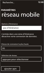 Nokia Lumia 900 - Réseau - utilisation à l'étranger - Étape 10