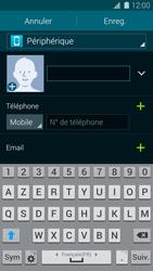 Samsung Galaxy S5 - Contact, Appels, SMS/MMS - Ajouter un contact - Étape 8