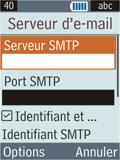 Samsung B2100 Xplorer - E-mail - Configuration manuelle - Étape 21