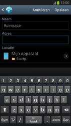 Samsung N7100 Galaxy Note II - Internet - Hoe te internetten - Stap 8