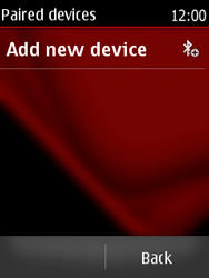 Nokia Asha 300 - Bluetooth - Pair with another device - Step 7