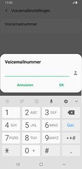 Samsung galaxy-s9-plus-sm-g965f-android-pie - Voicemail - Handmatig instellen - Stap 10
