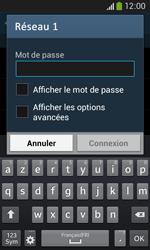Samsung Galaxy Core Plus - WiFi et Bluetooth - Configuration manuelle - Étape 7