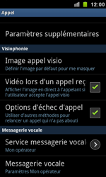 Samsung I9100 Galaxy S II - Messagerie vocale - configuration manuelle - Étape 6