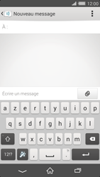 Sony Xperia Z2 - Contact, Appels, SMS/MMS - Envoyer un SMS - Étape 5