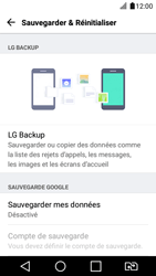 LG K4 2017 - Device maintenance - Back up - Étape 7