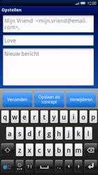Sony Ericsson Xperia X10 - E-mail - e-mail versturen - Stap 6
