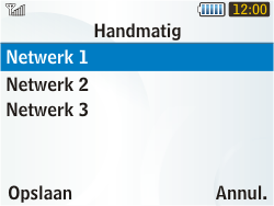 Samsung S3350 Chat 335 - Buitenland - Bellen, sms en internet - Stap 8