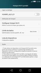 Huawei P8 Lite - Internet no telemóvel - Como partilhar os dados móveis -  6