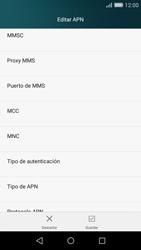 Huawei P8 Lite - Mensajería - Configurar el equipo para mensajes multimedia - Paso 12