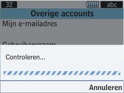 Samsung S3570 Chat 357 - E-mail - Handmatig instellen - Stap 8