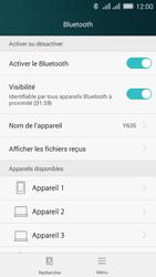 Huawei Y635 Dual SIM - WiFi et Bluetooth - Jumeler votre téléphone avec un accessoire bluetooth - Étape 5