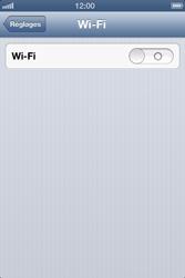 Apple iPhone 4 - iOS 6 - Wifi - configuration manuelle - Étape 3