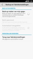 Huawei Ascend G6 4G (Model G6-L11) - Instellingen aanpassen - Fabrieksinstellingen terugzetten - Stap 5