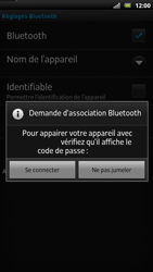Sony LT22i Xperia P - Bluetooth - connexion Bluetooth - Étape 11