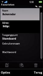 Sony Ericsson U1i Satio - Internet - Hoe te internetten - Stap 9