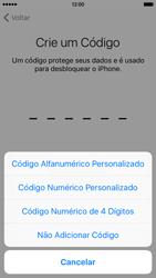 Apple iPhone iOS 9 - Primeiros passos - Como ativar seu aparelho - Etapa 17
