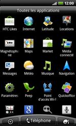 HTC A7272 Desire Z - Internet - Navigation sur Internet - Étape 2