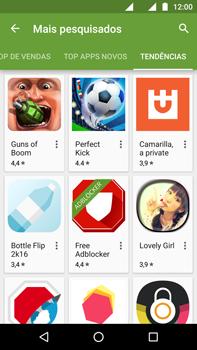 Motorola Moto G (4ª Geração) - Aplicativos - Como baixar aplicativos - Etapa 13