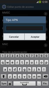 Samsung Galaxy Note 3 - Mensajería - Configurar el equipo para mensajes multimedia - Paso 13