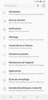 Samsung Galaxy Note 9 - Sécuriser votre mobile - Personnaliser le code PIN de votre carte SIM - Étape 4