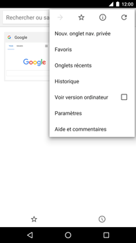 Huawei Google Nexus 6P - Internet - navigation sur Internet - Étape 14