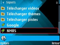 Nokia E71 - Internet - navigation sur Internet - Étape 13