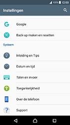 Sony Xperia X Compact (F5321) - Android Nougat - Resetten - Fabrieksinstellingen terugzetten - Stap 4