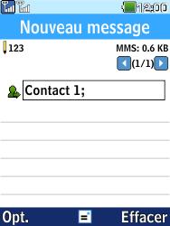LG G359 - Contact, Appels, SMS/MMS - Envoyer un MMS - Étape 10