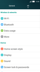 Huawei Y5 - WiFi and Bluetooth - Manual configuration - Step 3