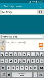 Samsung Galaxy A3 - Mensajería - Escribir y enviar un mensaje multimedia - Paso 13