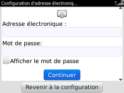 BlackBerry 9780 Bold - E-mail - Configuration manuelle - Étape 6