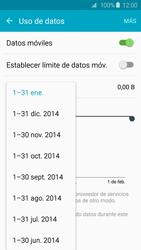 Samsung Galaxy S6 - Internet - Ver uso de datos - Paso 6