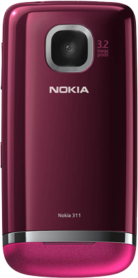 Nokia Asha 311 - Primeros pasos - Quitar y colocar la batería - Paso 5