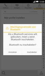 Alcatel One Touch POP S3 4G (OT-5050X) - Contacten en data - Contacten overzetten via Bluetooth - Stap 9