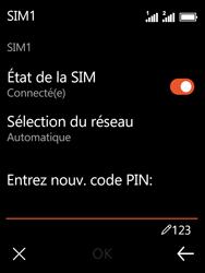 Nokia 3310 - Sécuriser votre mobile - Personnaliser le code PIN de votre carte SIM - Étape 10