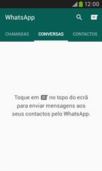 Samsung Galaxy Trend Plus - Aplicações - Como configurar o WhatsApp -  12