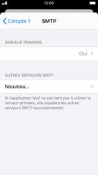 Apple iPhone SE - iOS 13 - E-mail - Configuration manuelle - Étape 20