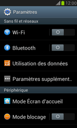 Samsung I8190 Galaxy S III Mini - Réseau - Sélection manuelle du réseau - Étape 4