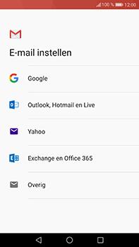 Huawei P10 Plus - E-mail - handmatig instellen (gmail) - Stap 7