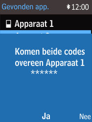 Nokia 215 (Type RM-1111) - Bluetooth - Headset, carkit verbinding - Stap 12