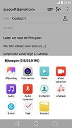 LG K10 2017 - E-mail - Hoe te versturen - Stap 11